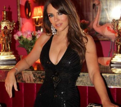 Elizabeth hurley measurement